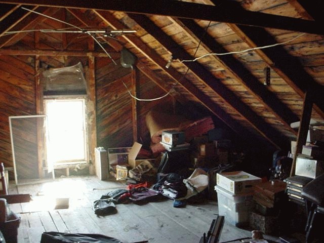 ATTIC CLEANUP
